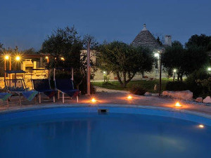 Trulli with swimming pool in Alberobello, Puglia